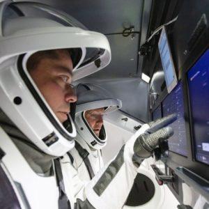 Image article Pour la première fois de son histoire, SpaceX va envoyer des astronautes dans l'espace