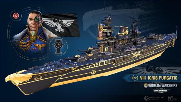 World Of Warships Warhammer 40k Skins A 600x338