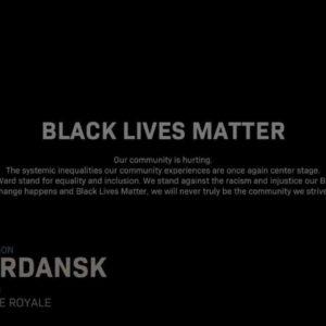 Image article Call of Duty ajoute un écran «Black Lives Matter»