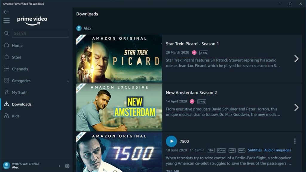 Fuite App Amazon Prime Video Windows UWP 2 1024x576
