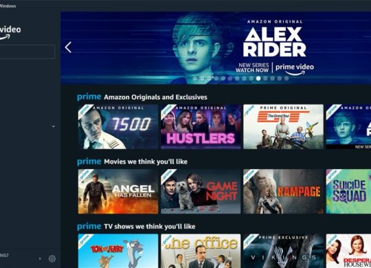 Fuite App Amazon Prime Video Windows UWP