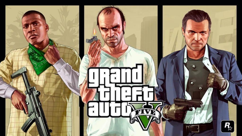GTA 5 Franklin vs Trevor vs Michael