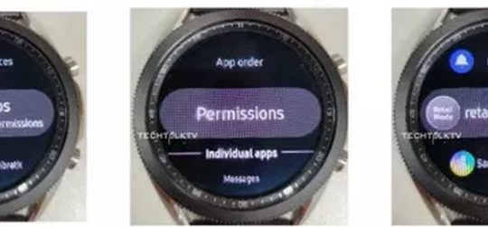 Galaxy Watch 3 leak