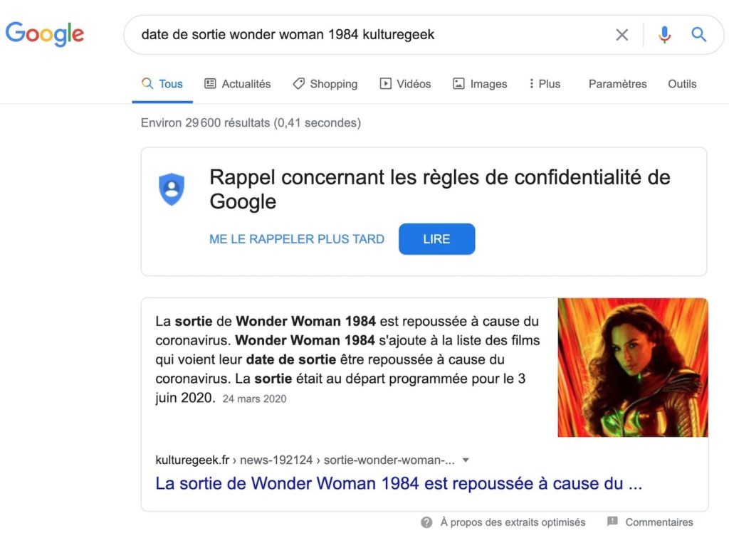 Google Feature Snippet 1024x756