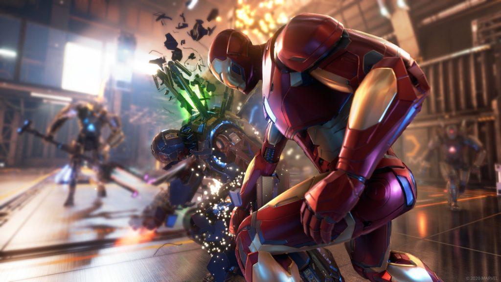 Marvel Avengers Jeu PS5 Iron Man 1024x576