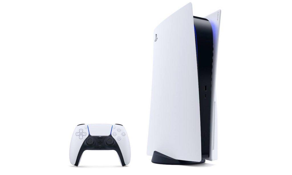 PlayStation 5 Debout Et Manette DualSense Officiel 1024x615