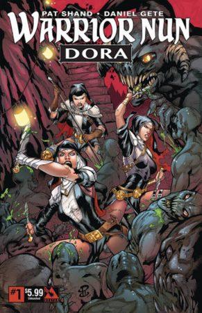 Warrior Nun Comics 291x450