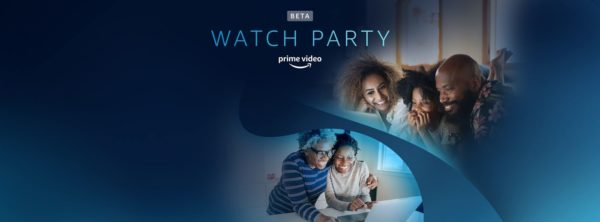 Watch Party Prime Video 600x222