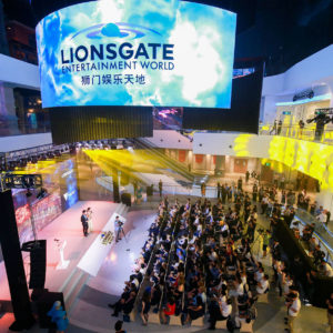 Image article Lionsgate va rouvrir son parc d'attractions en Chine