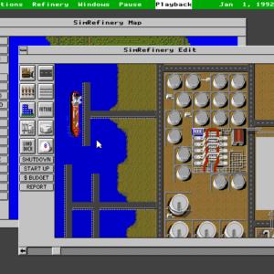 Image article SimRefinery, un titre oublié de Maxis, est désormais jouable gratuitement en ligne
