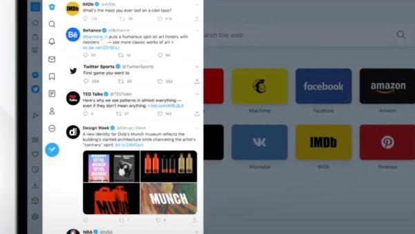 Opera Twitter Browser Sidebar 600x338