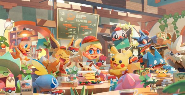 Pokemon Cafe Mix 600x310