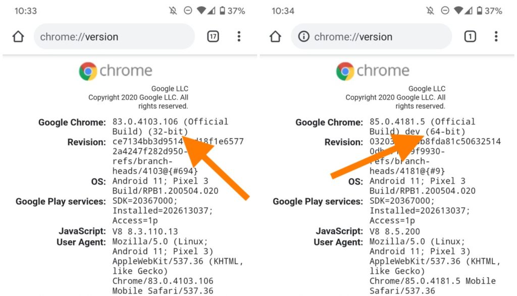Chrome Android 64 Bits 1024x587