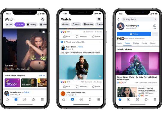 Facebook Clips Musicaux