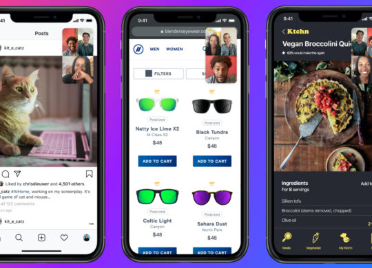 Facebook Messenger Partage Ecran iPhone