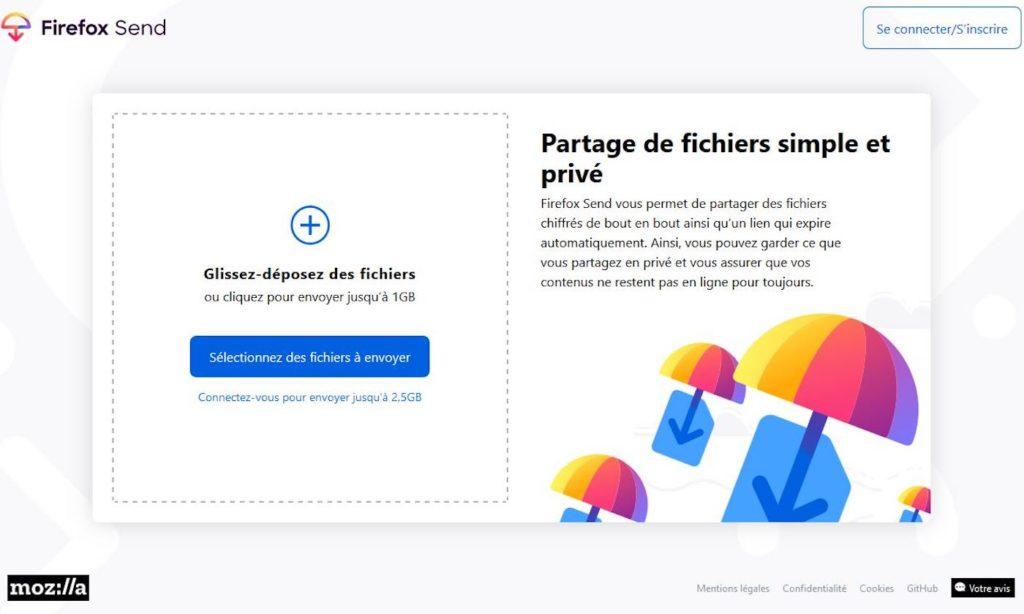 Firefox Send 1024x614