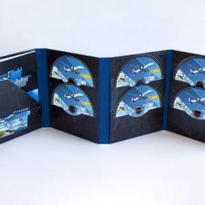 Image article Flight Simulator : le jeu sera aussi disponible en version physique 10 DVDs !