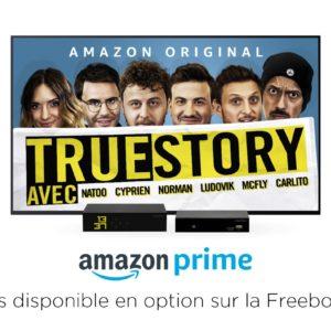 Image article Free propose Amazon Prime en option sur la Freebox Mini 4K