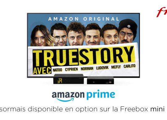 Freebox Mini 4K Amazon Prime Option