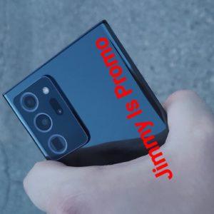 Image article Premières images d'un Samsung Galaxy Note 20 Ultra fonctionnel