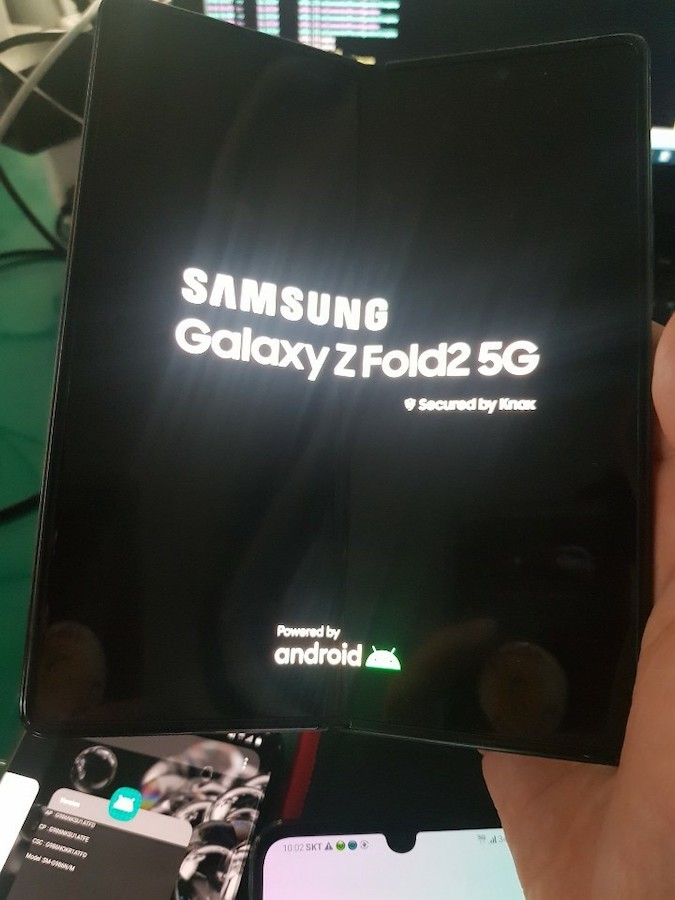 Fuite Galaxy Z Fold 2