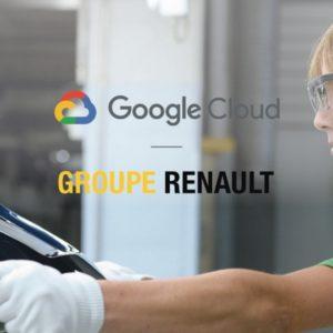 Image article Cloud : Renault signe avec Google pour la digitalisation de ses 22 usines