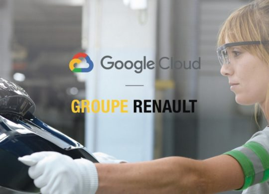 Google Cloud et Renault
