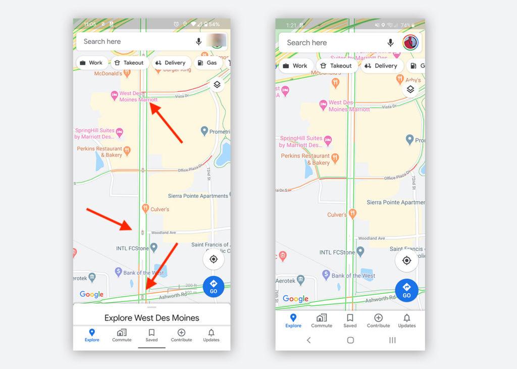 Google Maps Android Feu Circulation 2 1024x731