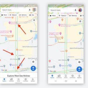 Image article Google Maps : l'affichage des feux de circulation actuellement en test