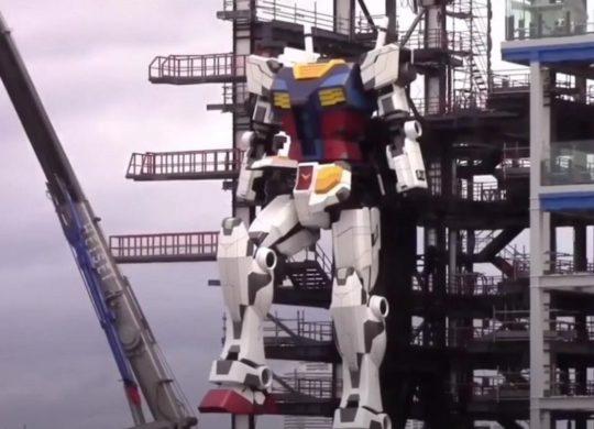 Gundam geant Japon