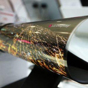 Image article Project B : LG travaille sur un smartphone enroulable