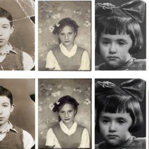 Image article Microsoft met au point une IA capable de réparer les vieilles photos sévèrement endommagées