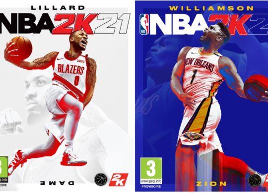 NBA 2K21 Jaquettes