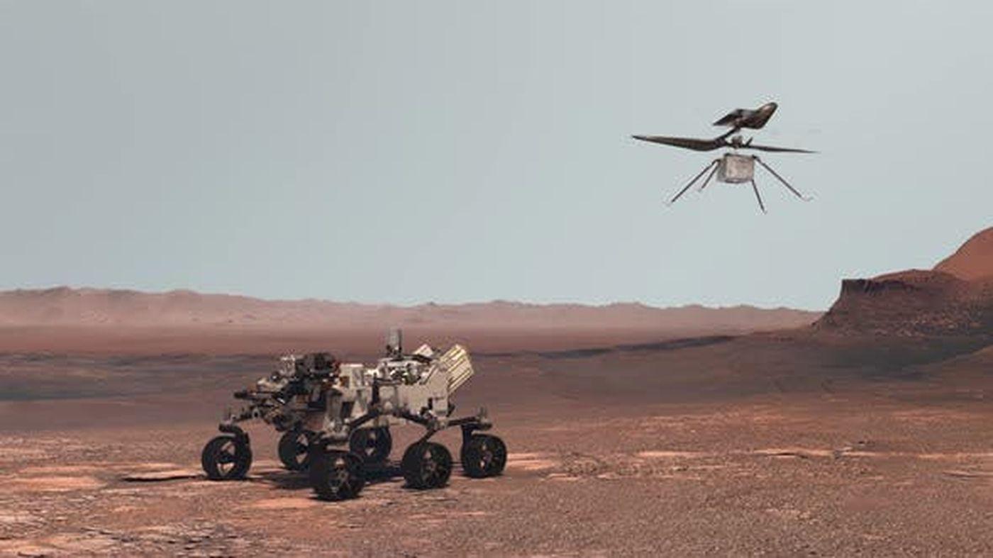 Perseverance : la NASA va tenter de faire voler Ingenuity dans la journée (lien video)