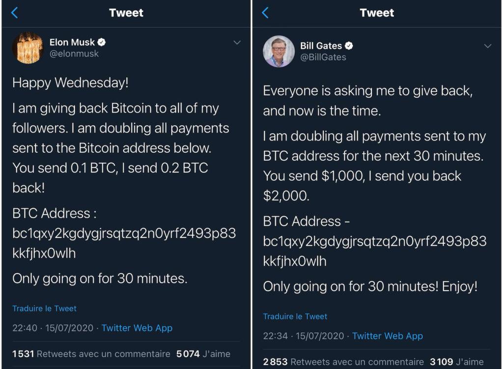 Piratage Twitter Bitcoin Tweet 2 1024x751