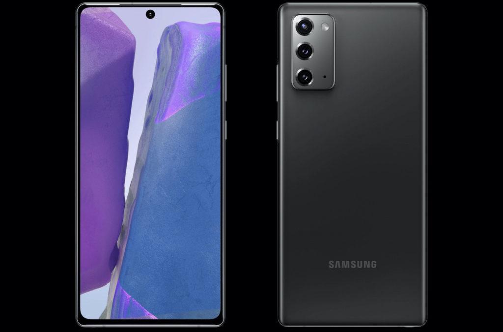 Samsung Galaxy Note 20 Avant Et Arriere 1024x675