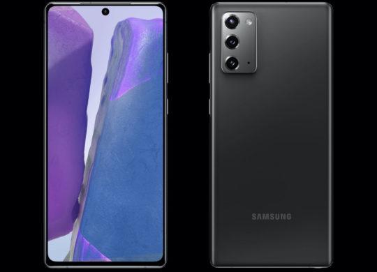 Samsung Galaxy Note 20 Avant et Arriere