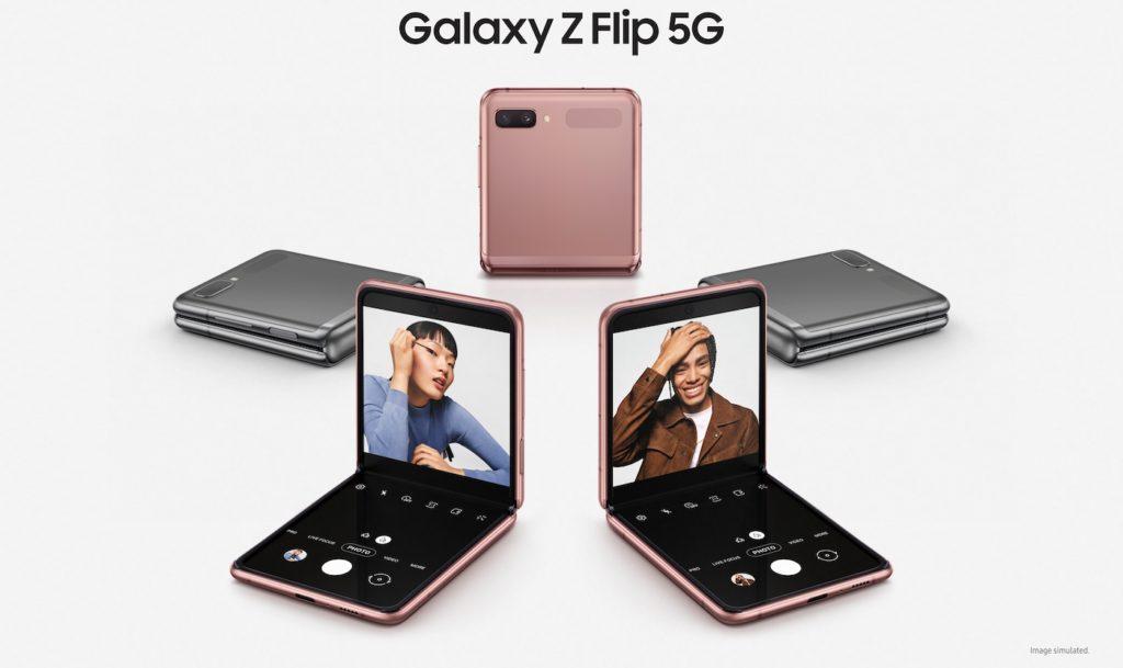 Samsung Galaxy Z Flip 5G 1024x609