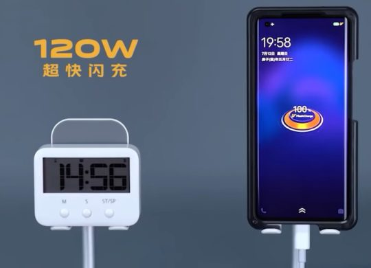 Vivo Recharge 120 W FlashCharge