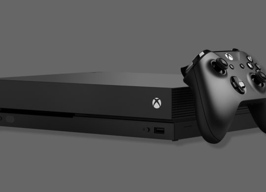 Xbox One X et Manette