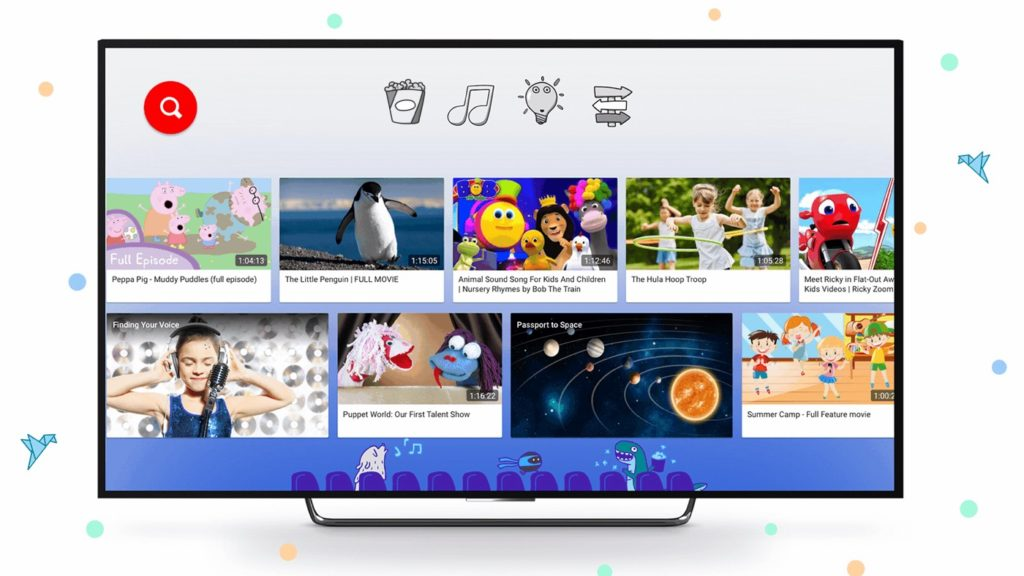 YouTube Kids Television 1024x576