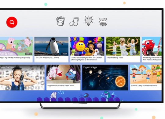 YouTube Kids Television