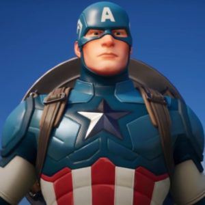 Image article Captain America est disponible sur Fortnite