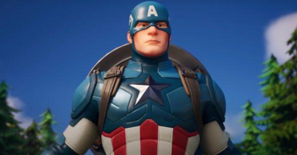 Captain America 600x314