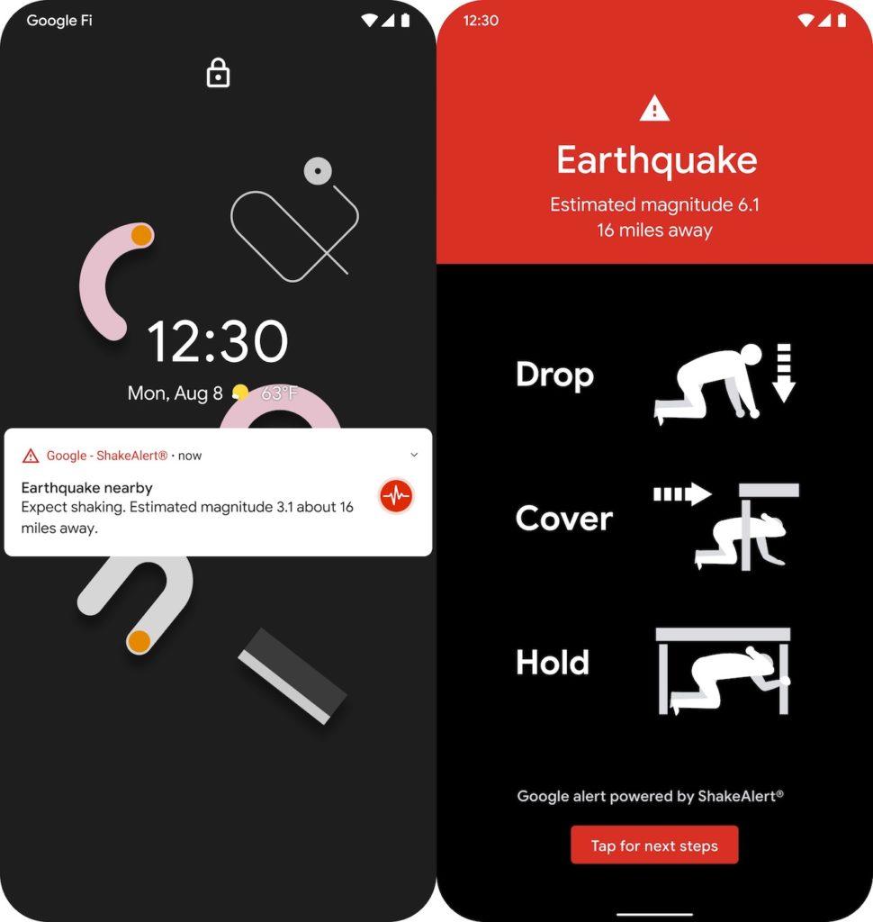 Android Alerte Tremblement De Terre 970x1024