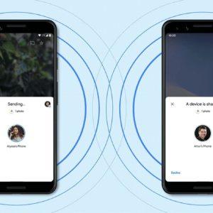 Image article Nearby Share, l'AirDrop de Google sur Android, est maintenant disponible