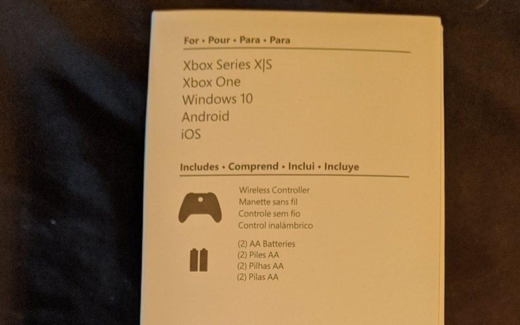 Fuite Boite Manette Xbox Series S 2 1024x640
