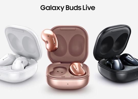 Galaxy Buds Live Officiel Ecouteurs et Boitier