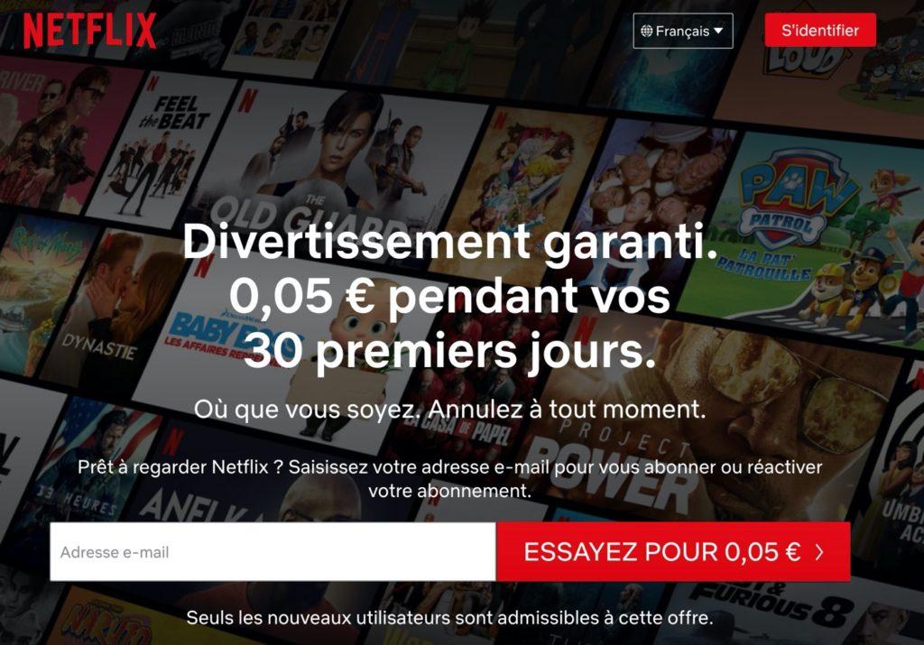 Netflix Premier Mois 5 Centimes 1024x715