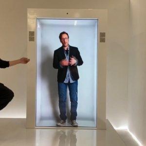 Image article PORTL dévoile le premier «portail» holographique à taille humaine